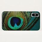 Peacock Feather Stylish Chic Photo Phone Case