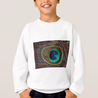 peacock feather sweatshirt