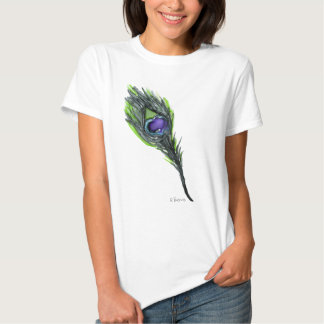 Peacock Feather Tees