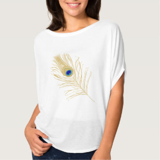 Peacock Feather Top T-shirts