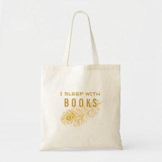 Peacock Feather With Heart I Sleep w/ Books