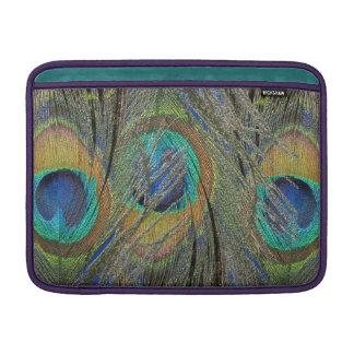 Peacock Feathers and Eyes MacBook Cover MacBook Sleeves