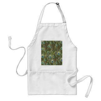 Peacock Feathers Aprons