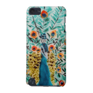 Peacock feathers Bird Artwork iPod Touch 5G Cases