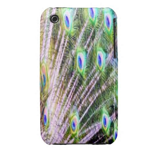 Peacock Feathers iPhone 3 Case-Mate Cases