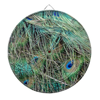 Peacock Feathers Exotic Growth New Eyes Dartboard