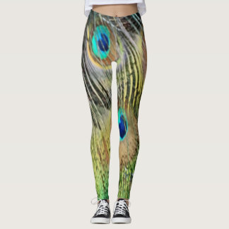 Peacock Feathers Eyes All New Growth Leggings