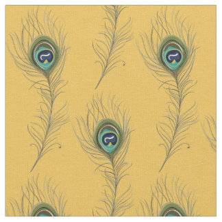 Peacock Feathers Fabric