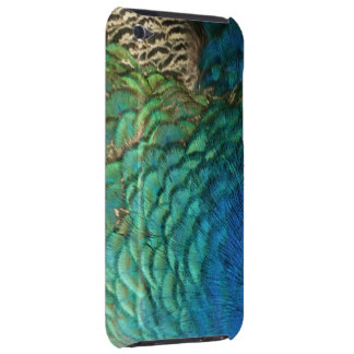Peacock Feathers I Colorful Abstract Nature Design Barely There iPod Cover