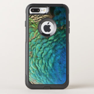 Peacock Feathers I Colorful Abstract Nature Design OtterBox Commuter iPhone 8 Plus/7 Plus Case
