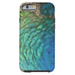 Peacock Feathers I Colourful Abstract Nature Tough iPhone 6 Case