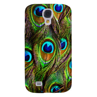 Peacock Feathers Invasion Galaxy S4 Case