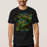 Peacock Feathers Invasion Shirt