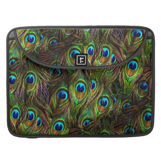 Peacock Feathers Invasion Sleeve For MacBooks