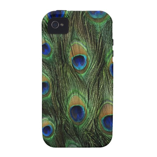 peacock feathers iPhone 4 cover