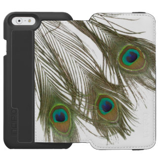 PEACOCK FEATHERS iPHONE 6 WALLET CASE Incipio Watson™ iPhone 6 Wallet Case