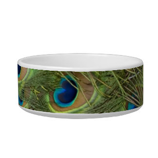 Peacock Feathers Pattern Bowl