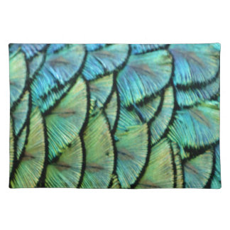 Peacock Feathers Placemat