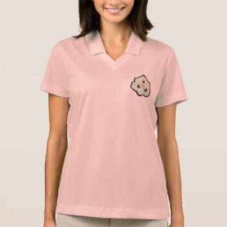 Peacock flower Women's Nike Polo Shirt