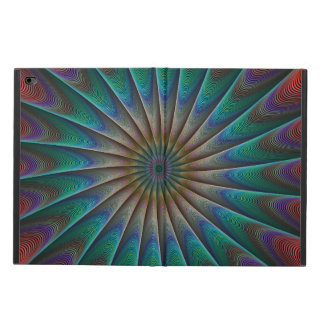 Peacock fractal