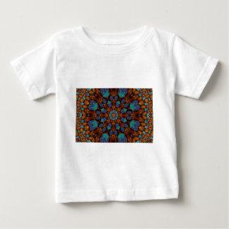 Peacock Fractal Art 6 Baby T-Shirt