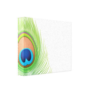 Peacock Gallery Wrap Canvas