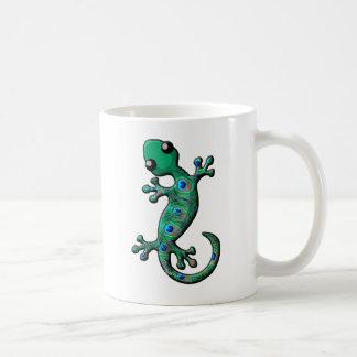 Peacock Gecko Coffee Mug