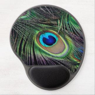 Peacock Gel Mouse Mat