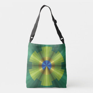 Peacock Illusion All-Over-Print Bag