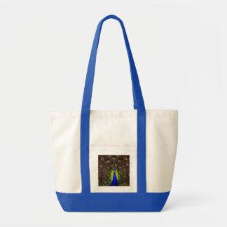 Peacock Impulse Tote Bag
