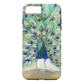 Peacock in San Diego 2 2013 iPhone 8 Plus/7 Plus Case