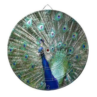 Peacock In Strut Dartboard