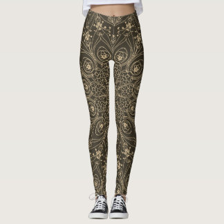 Peacock inspirations leggings