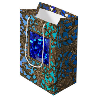 Peacock Jewel Medium Gift Bag