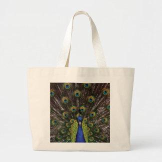 Peacock Jumbo Tote Bag