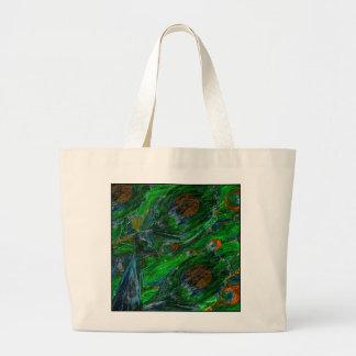 Peacock. Jumbo Tote Bag