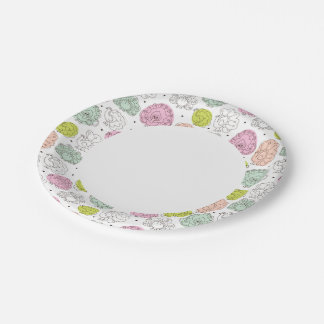peacock kids wallpaper vintage paper plate