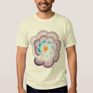 Peacock lilac. Men t-shirt