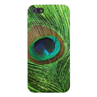 Peacock Lime Green iPhone 5 Cases