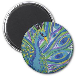 Peacock Locker Magnet