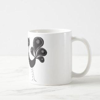 Peacock Love Classic Basic White Mug