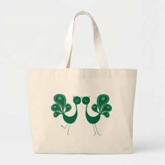 Peacock Love Forest Bag