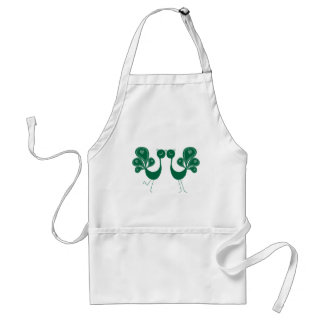 Peacock Love Forest Standard Apron