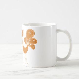 Peacock Love Marigold Coffee Mugs