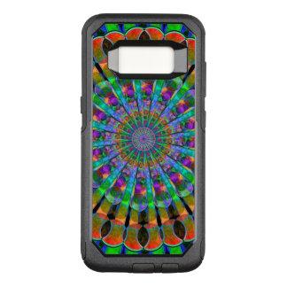 Peacock Mandala OtterBox Commuter Samsung Galaxy S8 Case