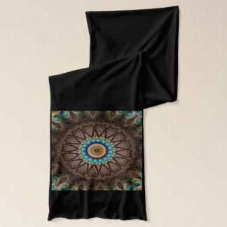 Peacock Mandala Scarf