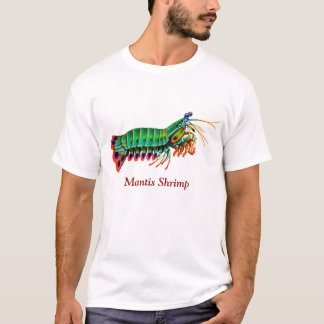 Peacock Mantis Shrimp Customizable T-Shirt