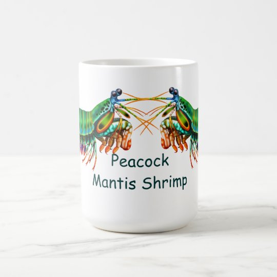 Peacock Mantis Shrimp Mug