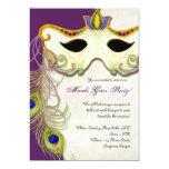 Peacock Masquerade Mask Ball - Mardi Gras Party