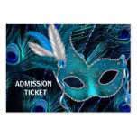Peacock Masquerade Party Admission Tickets